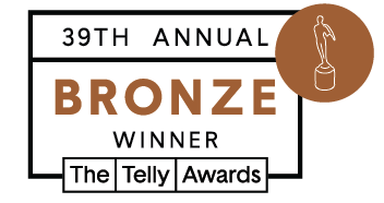 Telly Award Winner Bronze
